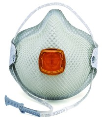 2800N95 Series N95 with Nuisance Organic Vapors Disposable Respirator with HandyStrap®